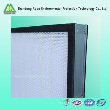 Высокая эффективность фильтра мини-pleat панелью воздушный фильтр HEPA Н13