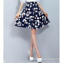 Hot Sale Summer A-Line Women′s Printing Skirt with Good Price