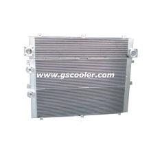 Refrigerador de aceite de compresor para la exportación