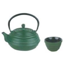 Tetera de hierro fundido con juego de tazas (CL1D-CCS8001)