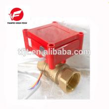 CWX-1.0B DN15 bronze fêmea-fêmea BSP DC12V CR02 mini válvula elétrica