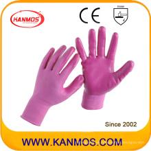 13gauges de seguridad industrial de punto Nitrilo jersey de trabajo guantes de trabajo (53203NL)
