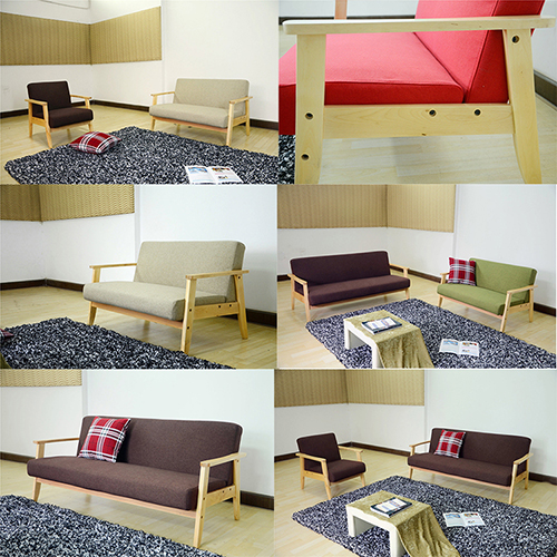 321 Seater Futon Sofa
