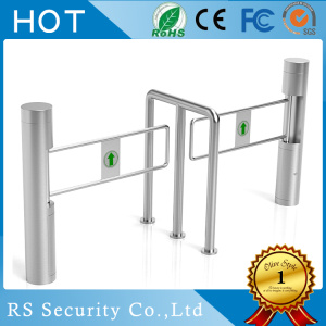 Electronic Turnstile Security Systems Bandara Swing Gates