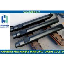 Martillo hidráulico de tipo lateral de excavadora de alta calidad