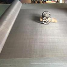 Malla de alambre de acero inoxidable dúplex 2205 2507 resistente a la corrosión para filtros de agua marina