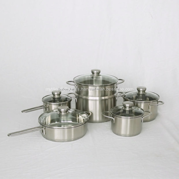 Sartén para alimentos Utensilios de cocina Juegos de wok de inducción de leche
