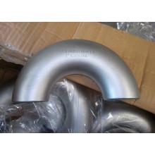 Acessórios de tubulação de cotovelo de aço inoxidável de grande diâmetro para gás
