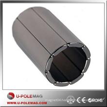 High Performance Strong N50 Neodymium Arc Magnet