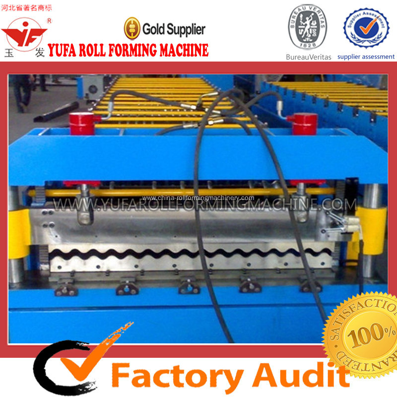 Corrugation Forming Machine For Wall Cladding Sheet
