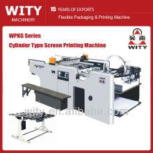 Machine d'impression automatique de sérigraphie à cylindre