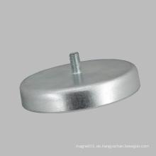 D40 Ferritmagnet Runde Basis mit Gewindestange