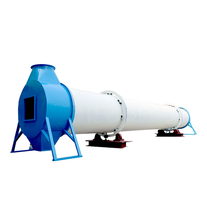 Wood Sawdust Rotary Dryer