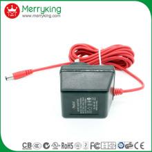 Adaptateur linéaire à courant continu 6V100mA avec prise Au