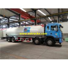 Camión cisterna LPG de 25cbm 10ton con bomba