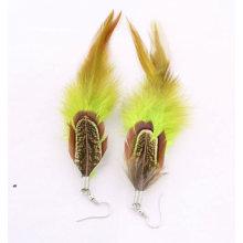 2014 Wholesale Feather Latest Fashion Earrings