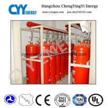 Nahtlose Stahl Feuer Kampf Gas Zylinder mit verschiedenen Kapazitäten