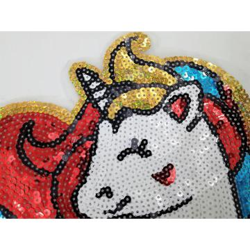 Hot sale OEM high quality sequin patch