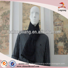 Wholesale Hot Business Woven Brushed Chinese Silk Scarf For Men