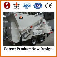 Misturador de betão móvel, doseador, máquina de dosagem MB1800, 20-25m3 / h