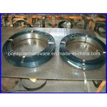 0.36mm-0.9mm Schwarzes und gewachstes Stahlband / Stahlband