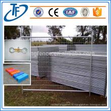Australie Standard AS 4687-2007 Clôture temporaire de clôture de chantier en construction galvanisée