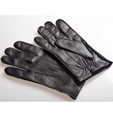 Мужская мода вне шить овчины кожаные перчатки для вождения (YKY5191)