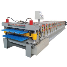 2021 hot sale double layer pbr roof deck panel roll forming machine
