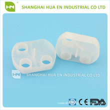 Disposable dental plastic white evacuation traps