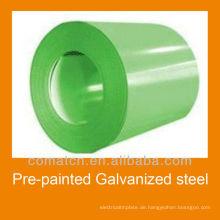 VORLACKIERTER Stahl verzinkt Spule für Dach-Konstruktion