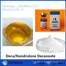 Bodybuilding GMP Standard Steroid Hormone Nandrolone Decanoate 250mg / Ml