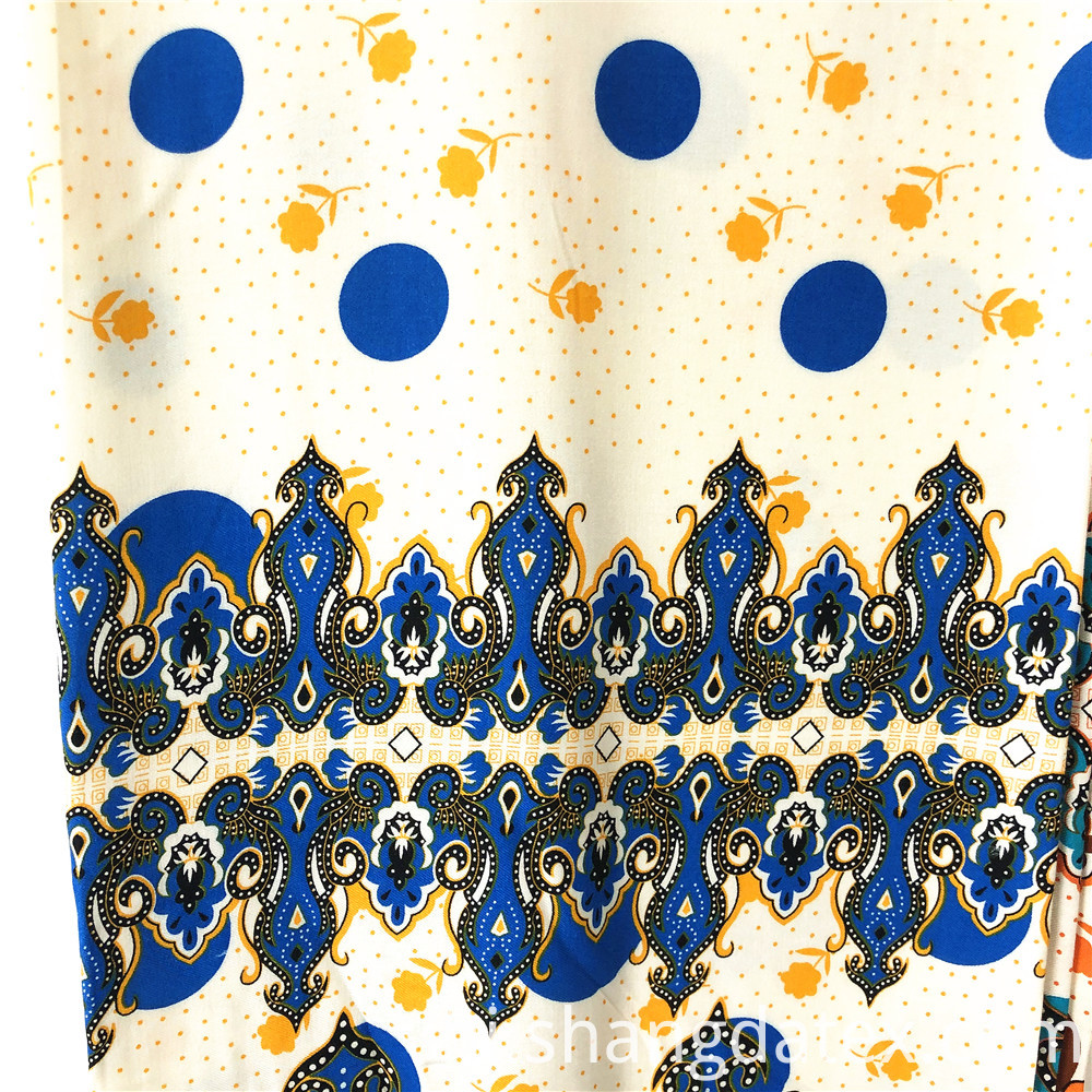 Exotic Design Rayon Twill