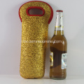Kilang Waterproof Golden Custom Neoprene Wine Wain