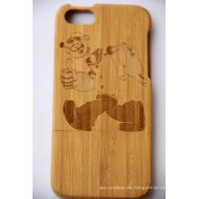 Neue Design Holzschutz zurück Fall Deckung für iPhone OEM / ODM
