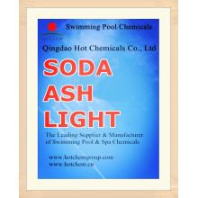 Пищевой Сода кальцинированная легкая/тяжелая для Плавательный бассейн химических веществ