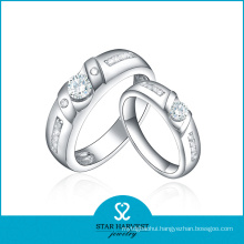 Luxury Valentine Silver Ring Jewellery Sales on Line (R-0196)