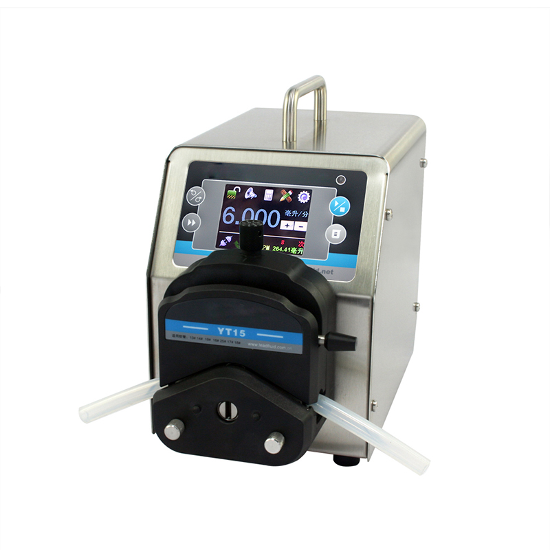 Flow peristaltic pump