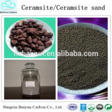 Suministro de la fábrica Materiales de tratamiento de agua 2-4 mm Ceramsita natural / Ceramsita arena
