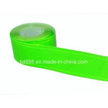 Matériau réfléchissant vert pour faire le gilet de sécurité
