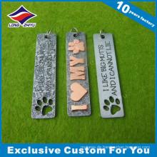 Buchstaben Souvenir 3D Metall Hundemarke