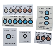 PCB Packing six dots Cobalt Free Humidity Indicator Cards