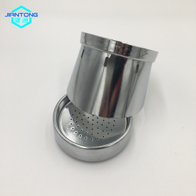 Stainless Steel Chromed Plated Deep Drawn Custom Parts Precision Metal Stamping 5