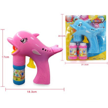 Friction Dolphin Bubble Gun with 2 Bottle Bubble Water (10218746)