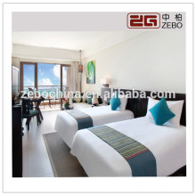 High Grade 5 Star Hotel Used 80S 400T Luxury Queen Size Bedding Sets