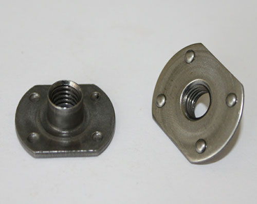 Steel Galvanized Flat Weld Nuts