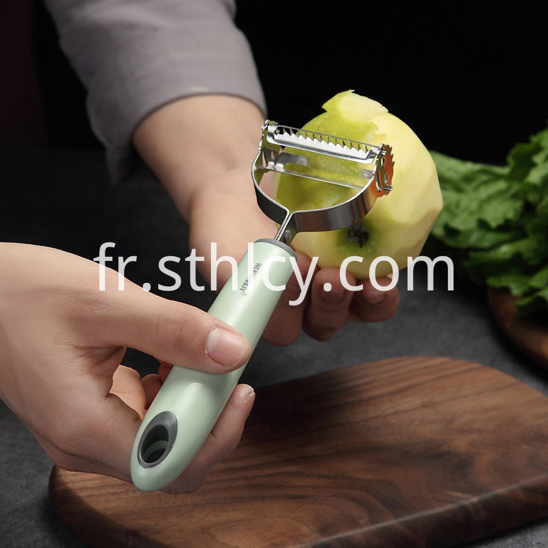 Double Planing Potato Fruit Peeler