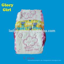 Super weiche Baumwolle Baby Windel verwendet schläfrig Einweg-Babywindel