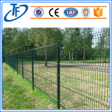 Square Post Curved Welded Wire Mesh Fence
