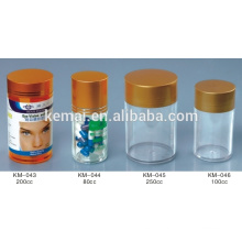 Bouteille à comprimés Bouteille à comprimés Bouteille à bouteilles bouteille en plastique vide