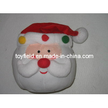 Christmas Cushion Plush Stuffed Santa Claus Plush Pillow